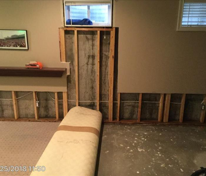 Water damage can sometimes result in mold After