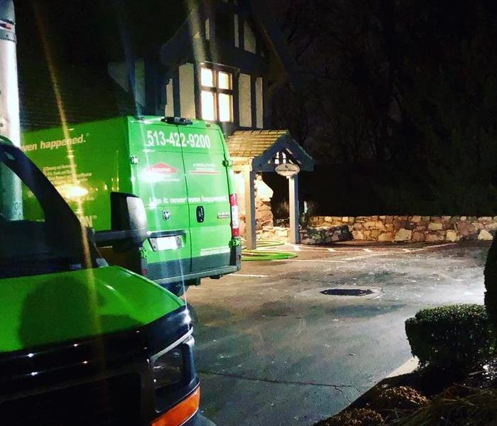 The time of the day doesn't  matter with SERVPRO